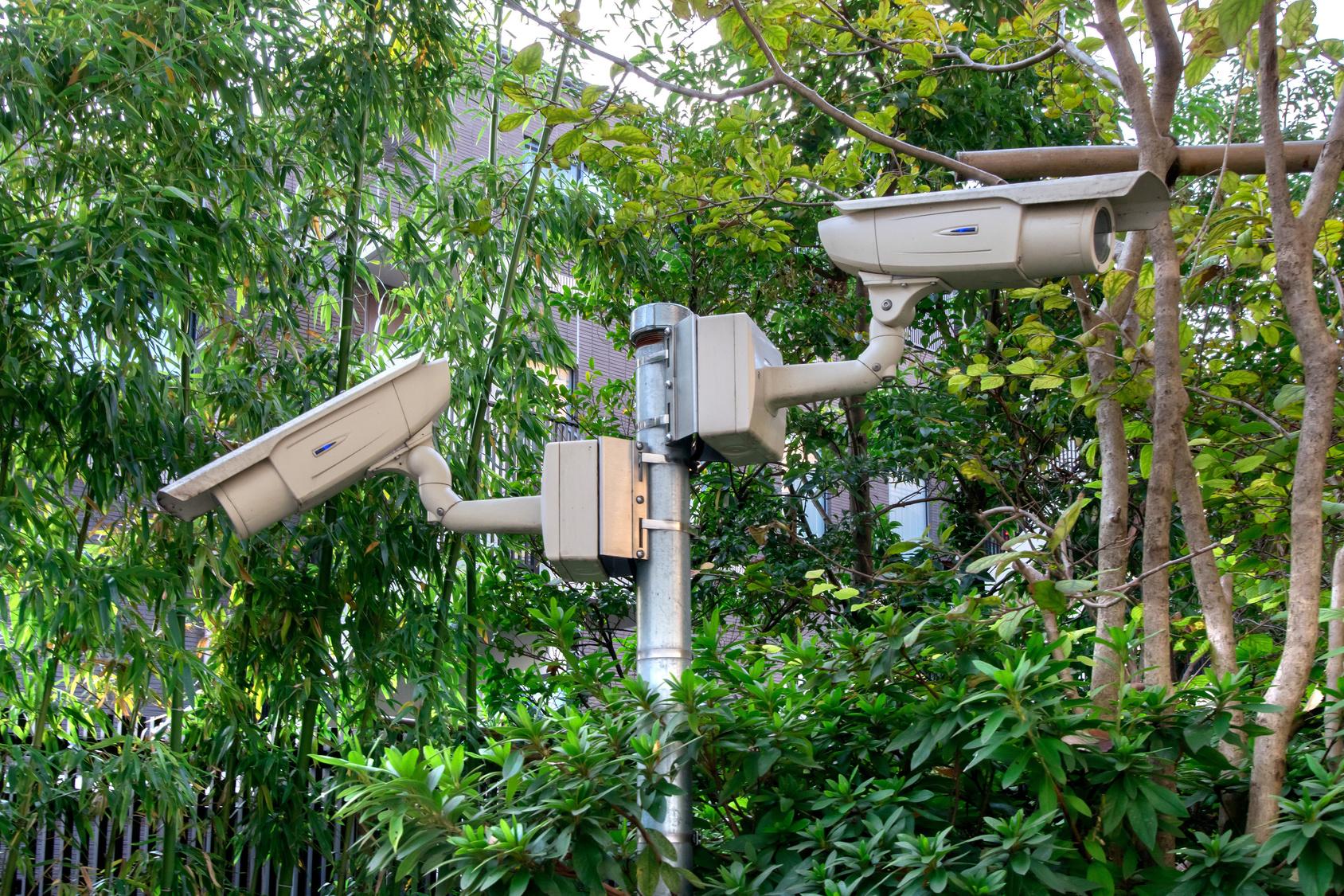 24時間映像を録画!監視カメラでセキュリティ強化!